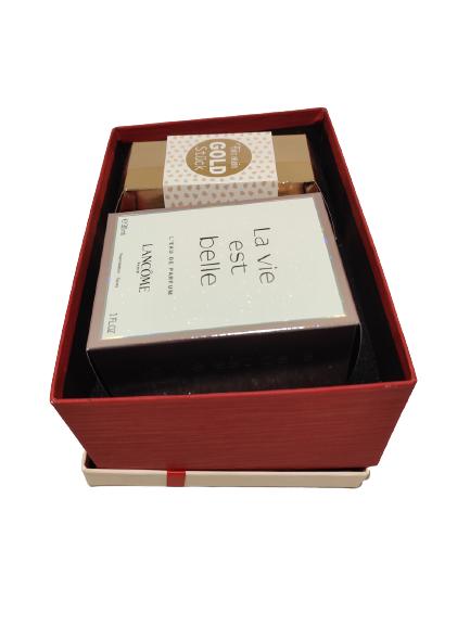 Geschenkbox-Gold-Stück-Lancome