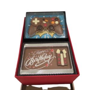Geschenkbox-Game Controller-Happy Birthday