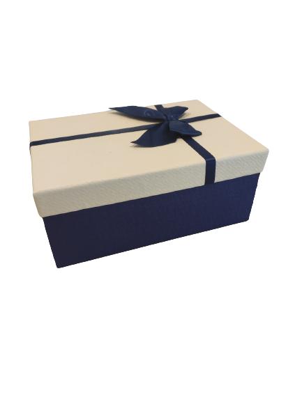 Geschenkbox-Blau