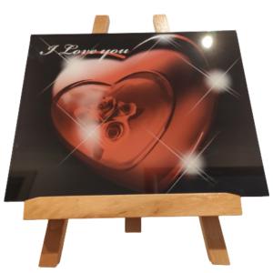standbild-staffelei-I-Love-you-25x20x0,5-cm