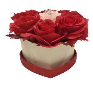 Herz-M-Rot-Rosa