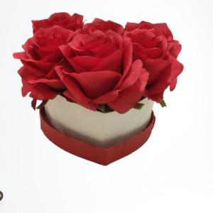 Herz-S-Weiß-Rote-Rosen